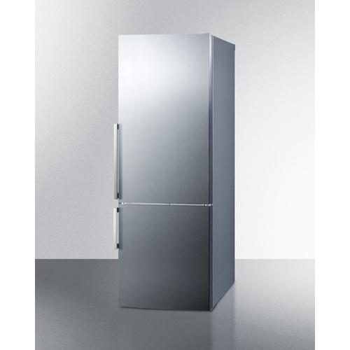 FFBF287SSIM Refrigerator Freezer Angle