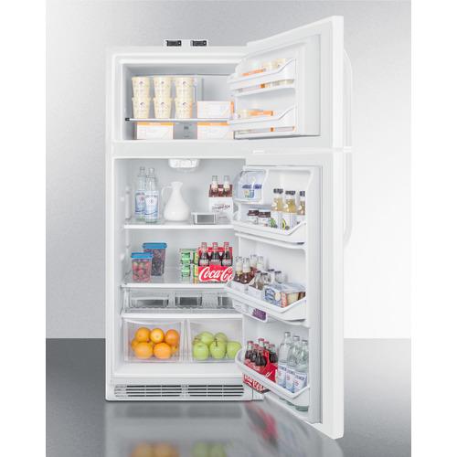 BKRF21W Refrigerator Freezer Full