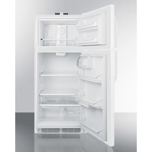 BKRF21W Refrigerator Freezer Open