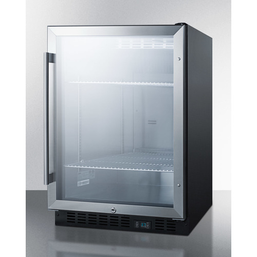 SCR610BL Refrigerator Angle