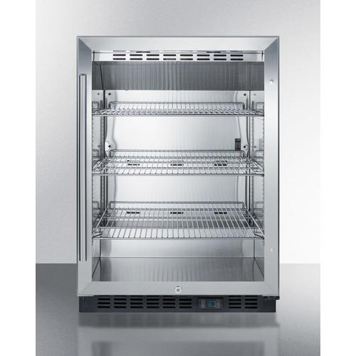 SCR610BL Refrigerator Front