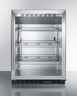 SCR610BLCSS Refrigerator Front