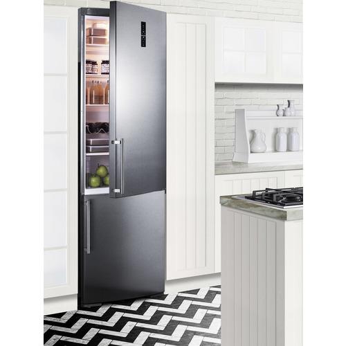 FFBF181ESBI Refrigerator Freezer Set