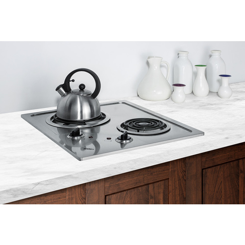 CR2B224S Electric Cooktop Set