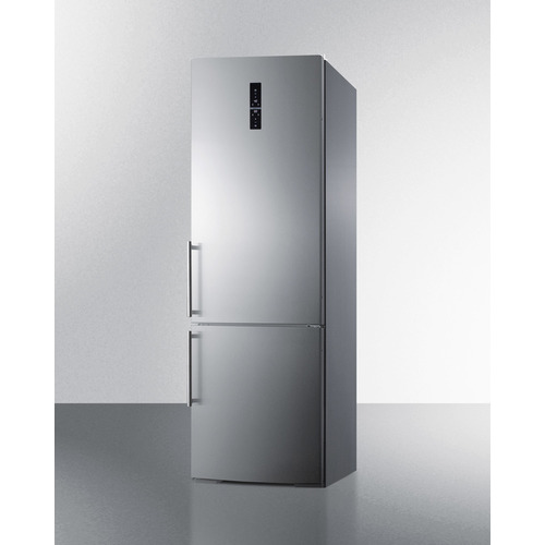 FFBF249SSBI Refrigerator Freezer Angle
