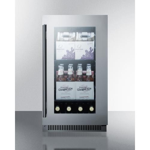 CL181WBVCSS Refrigerator Full