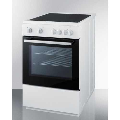 CLRE24WH Electric Range Angle