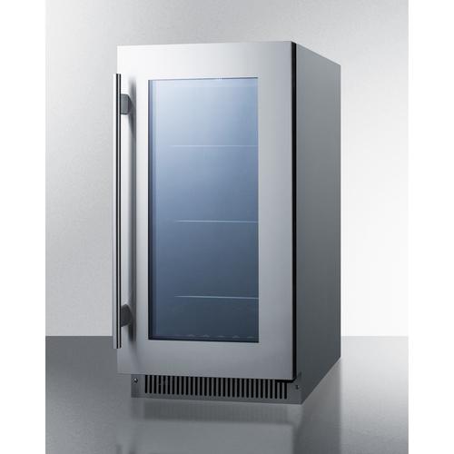 CL181WBVCSS Refrigerator Angle