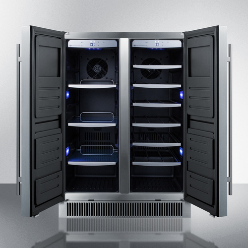 CL64FDSS Wine Cellar Open