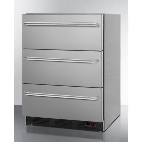 EQFM3DADA Freezer Angle