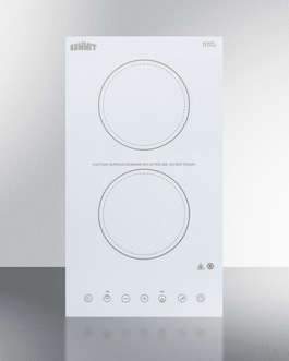 CR2B15T2W Electric Cooktop