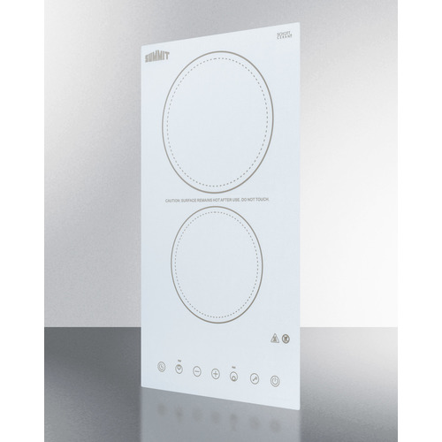 CR2B23T4W Electric Cooktop Angle