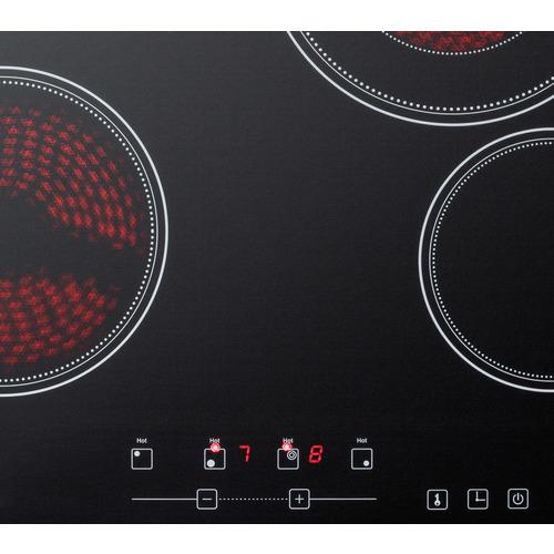 CR4B23T5B Electric Cooktop Detail