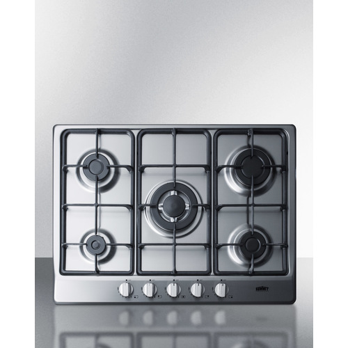 GC527SS Gas Cooktop Front