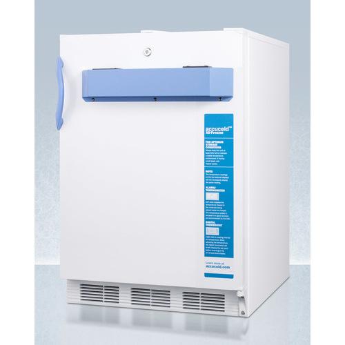 VT65MLBIMED2ADA Freezer Angle