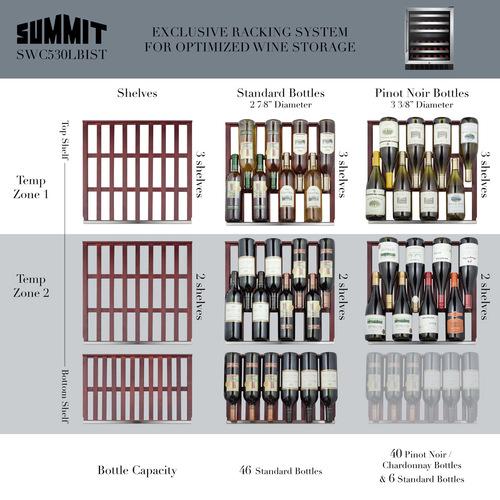 SWC530BLBISTADA Wine Cellar