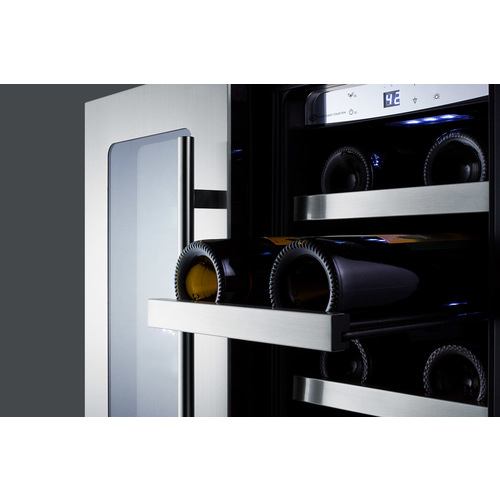 CL242WBVCSS Wine Cellar Detail
