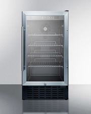 SCR1841BCSS Refrigerator Front