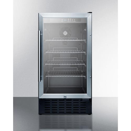 SCR1841B Refrigerator Front