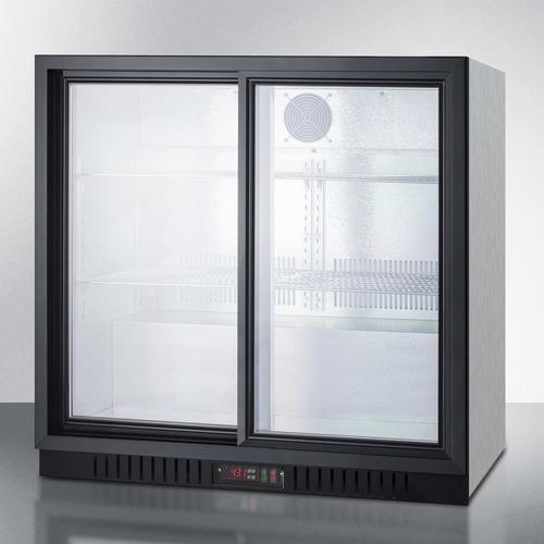SCR700BCSS Refrigerator Angle