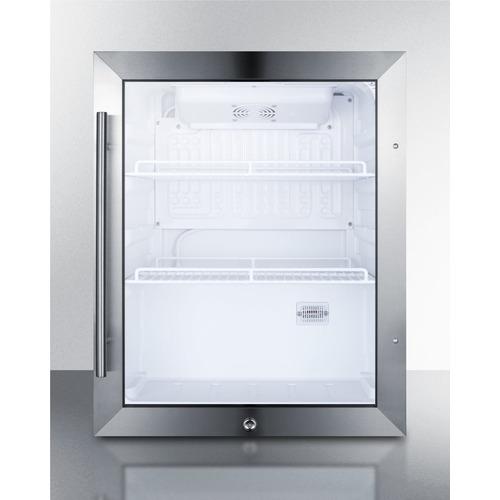 SCR314L Refrigerator Front