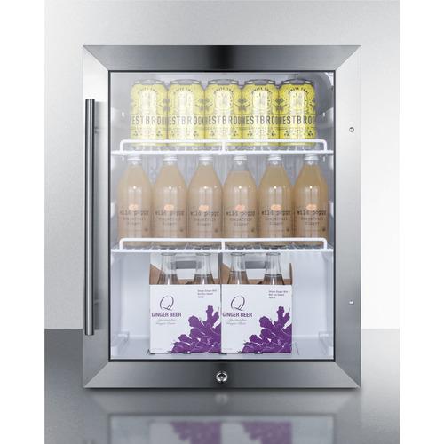 SCR314L Refrigerator Full