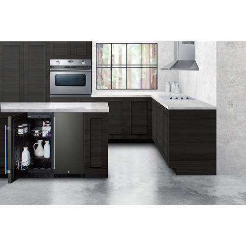 SCFF1533BKS Freezer Set