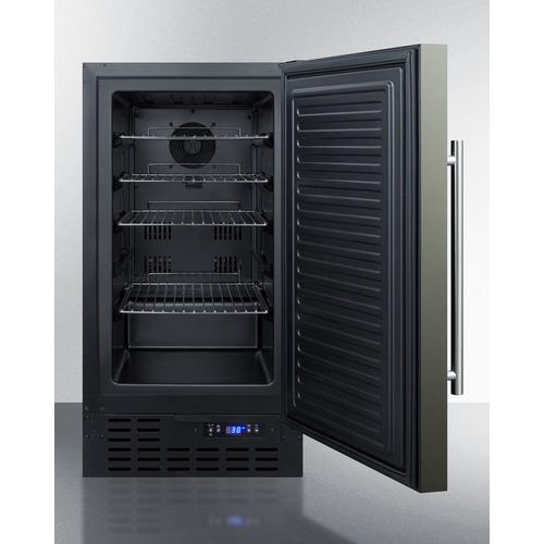 FF1843BKSADA Refrigerator Open