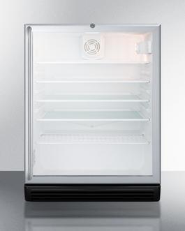 SCR600BGLSHADA Refrigerator Front