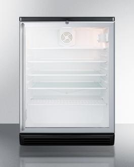 SCR600BGLSH Refrigerator Front