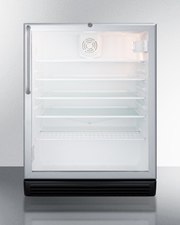 SCR600BGLCSS Refrigerator Front