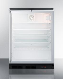 SCR600BGLBIDTPUBSH Refrigerator Front