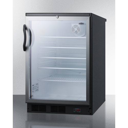 SCR600BGLBIDTPUB Refrigerator Angle