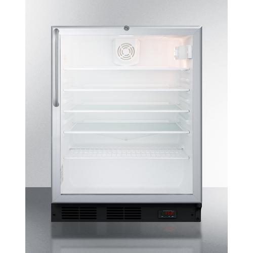 SCR600BGLDTPUBCSS Refrigerator Front