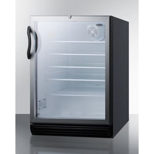 SCR600BGLBIADA Refrigerator Angle