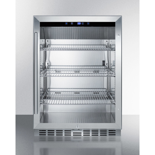 SCR611GLOS Refrigerator Front