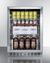 SCR611GLOS Refrigerator Full