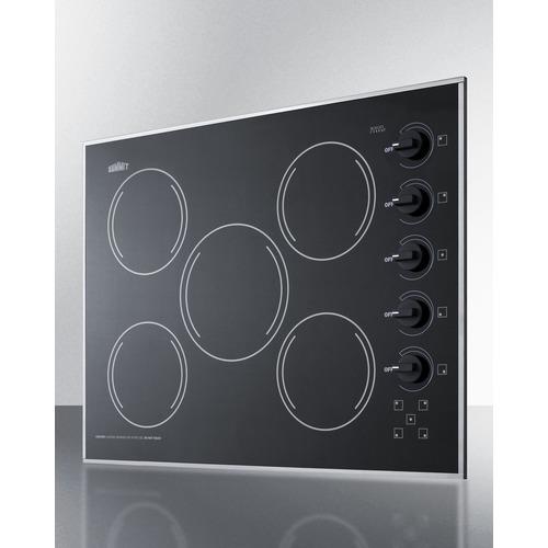 CR5B273B Electric Cooktop Angle