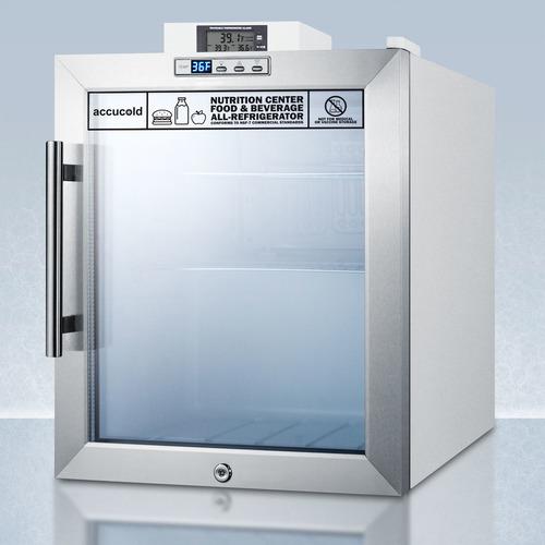 SCR215LNZ Refrigerator Angle