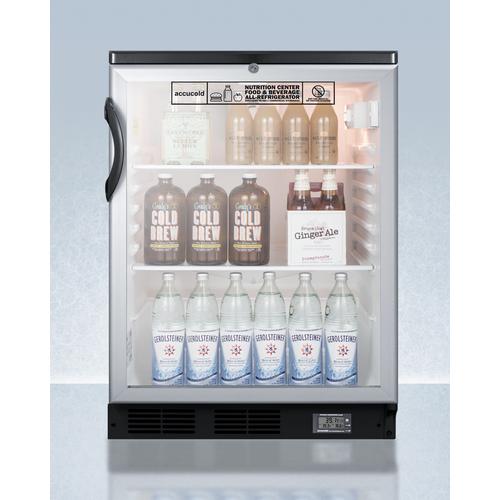 SCR600BGLBINZ Refrigerator Full