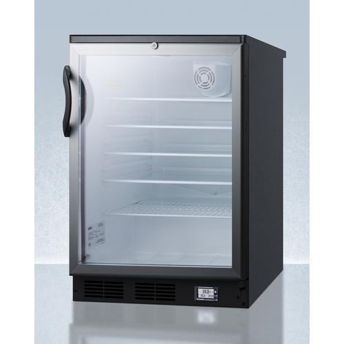 SCR600BGLBINZ Refrigerator Angle