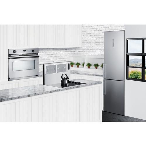 FFBF192SS Refrigerator Freezer Set