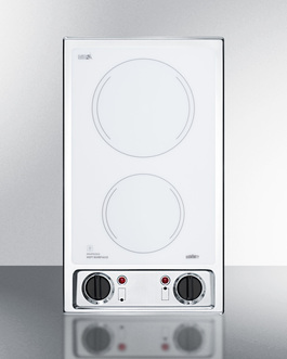 CR2B120WH Electric Cooktop Front