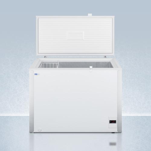 EQFF72 Freezer Open
