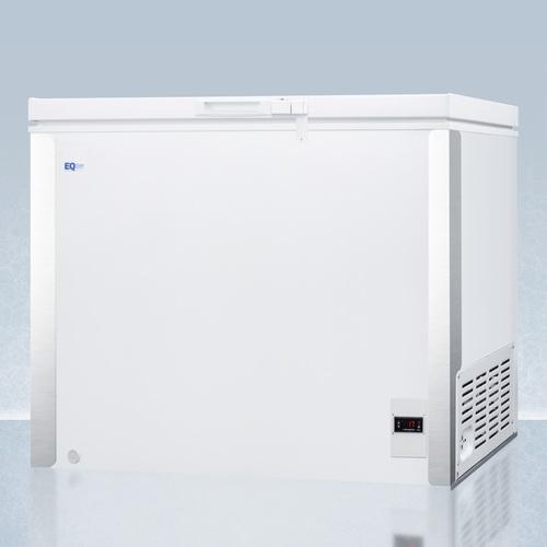 EQFF72 Freezer Angle