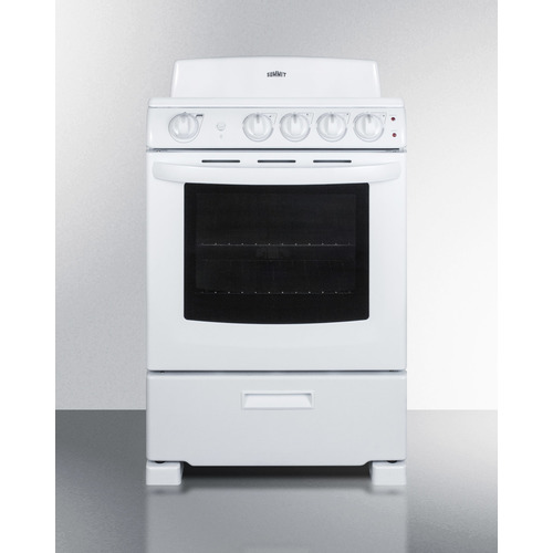 RE2411W Electric Range Front