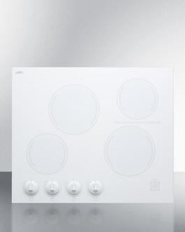 CREK4W Electric Cooktop Front