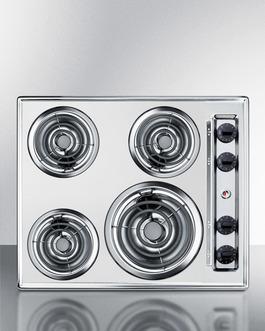 ZEL03 Electric Cooktop Front