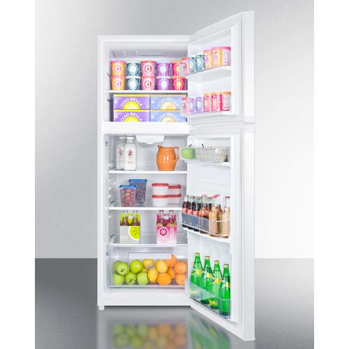 FF1427W Refrigerator Freezer Full