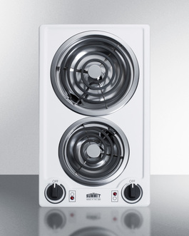 CCE211WH Electric Cooktop Front